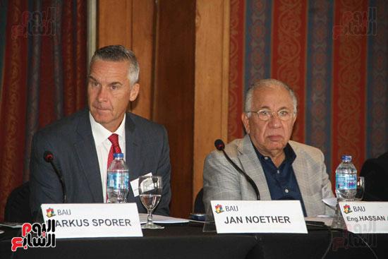 مؤتمر غرفة الصناعة والتجارة الألمانية فى مصر (18)