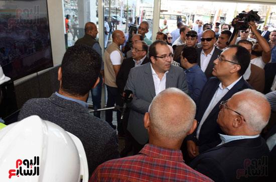 جولة رئيس الوزراء فى بورسعيد لتفقد عدد من المشروعات  (17)