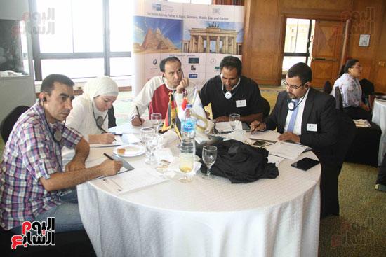 مؤتمر غرفة الصناعة والتجارة الألمانية فى مصر (8)