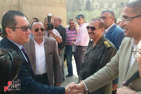 النائب محمد أبو حامد يشارك في افتتاح ترميم مسجد الظاهر بيبرس (2)
