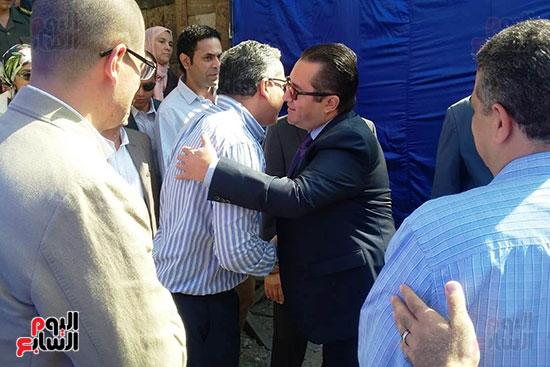النائب محمد أبو حامد يشارك في افتتاح ترميم مسجد الظاهر بيبرس (1)