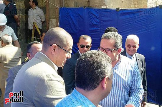 النائب محمد أبو حامد يشارك في افتتاح ترميم مسجد الظاهر بيبرس (12)