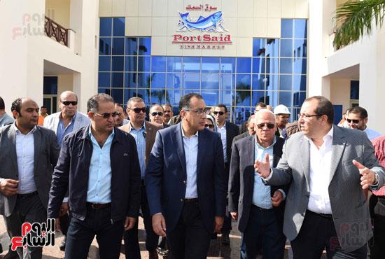 جولة رئيس الوزراء فى بورسعيد لتفقد عدد من المشروعات  (20)