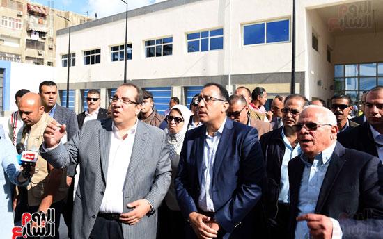جولة رئيس الوزراء فى بورسعيد لتفقد عدد من المشروعات  (18)