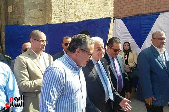 النائب محمد أبو حامد يشارك في افتتاح ترميم مسجد الظاهر بيبرس (5)