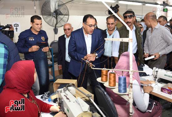 جولة رئيس الوزراء فى بورسعيد لتفقد عدد من المشروعات  (22)