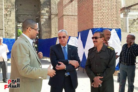 النائب محمد أبو حامد يشارك في افتتاح ترميم مسجد الظاهر بيبرس (13)