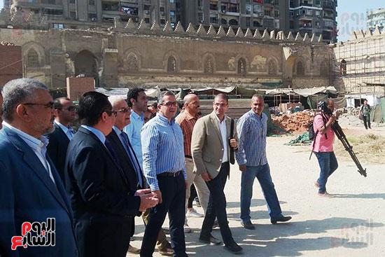 النائب محمد أبو حامد يشارك في افتتاح ترميم مسجد الظاهر بيبرس (6)