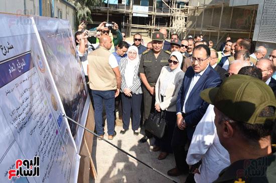 جولة رئيس الوزراء فى بورسعيد لتفقد عدد من المشروعات  (15)