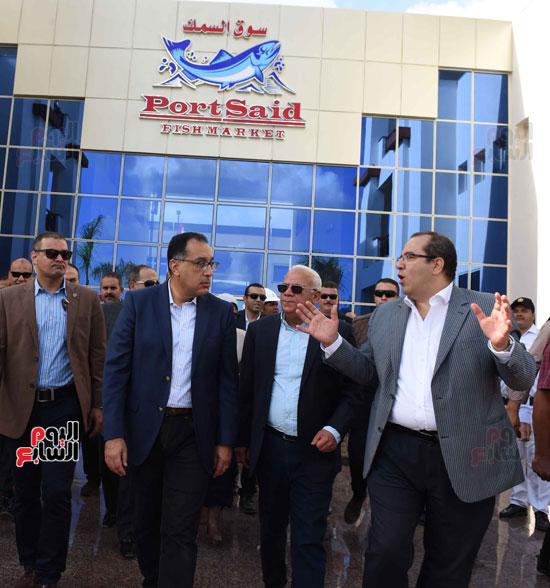 جولة رئيس الوزراء فى بورسعيد لتفقد عدد من المشروعات  (19)