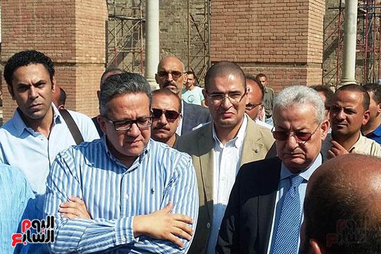 النائب محمد أبو حامد يشارك في افتتاح ترميم مسجد الظاهر بيبرس (10)