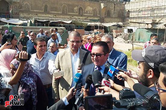 النائب محمد أبو حامد يشارك في افتتاح ترميم مسجد الظاهر بيبرس (9)