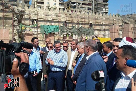 النائب محمد أبو حامد يشارك في افتتاح ترميم مسجد الظاهر بيبرس (3)