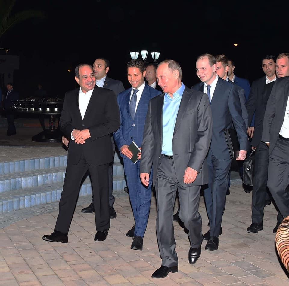 الرئيس السيسى وبوتين (6)
