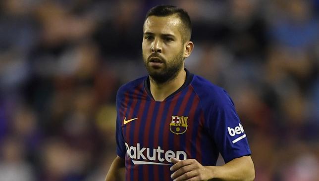 جوردى البا مدافع برشلونة