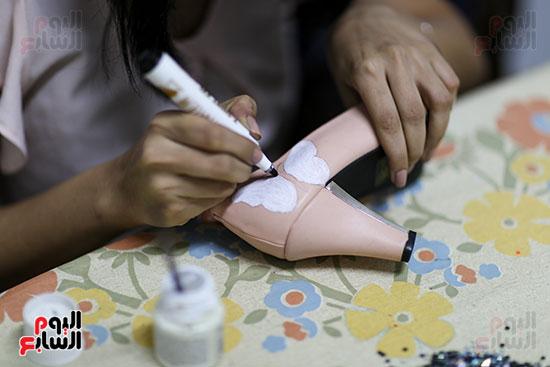 خلال صناعة الأحذية