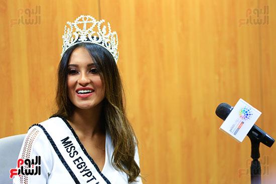 ملكة جمال مصر نايمان خالد