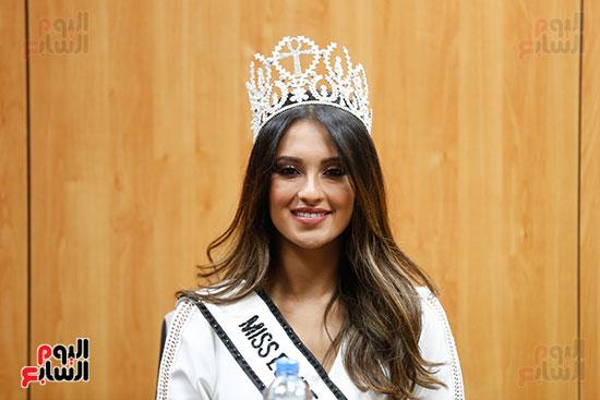 ناريمان خالد ملكة جمال مصر للكون