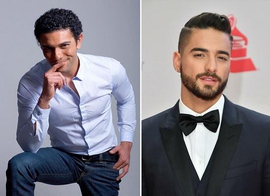 مالوما وآسر ياسين فارسا أحلام ملكة جمال مصر للكون