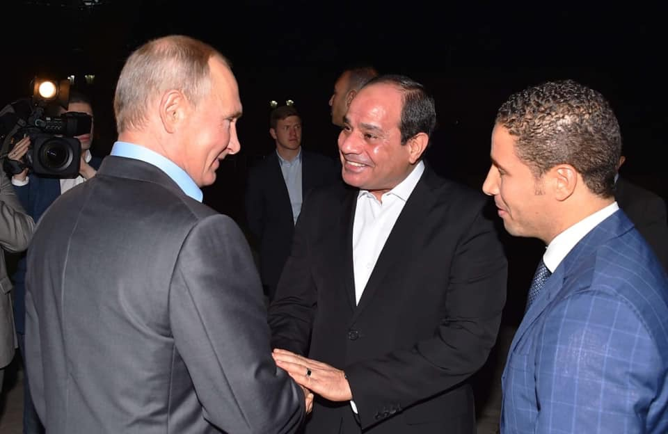 الرئيس السيسى وبوتين (2)