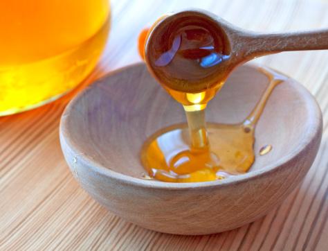 العسل والجليسرين