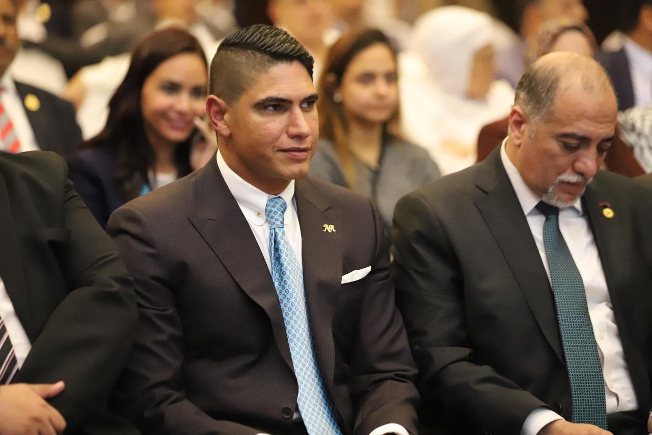 10201818202639295-أحمد ابو هشمية وعبد الهادى القصبى رئيس ائتلاف دعم مصر
