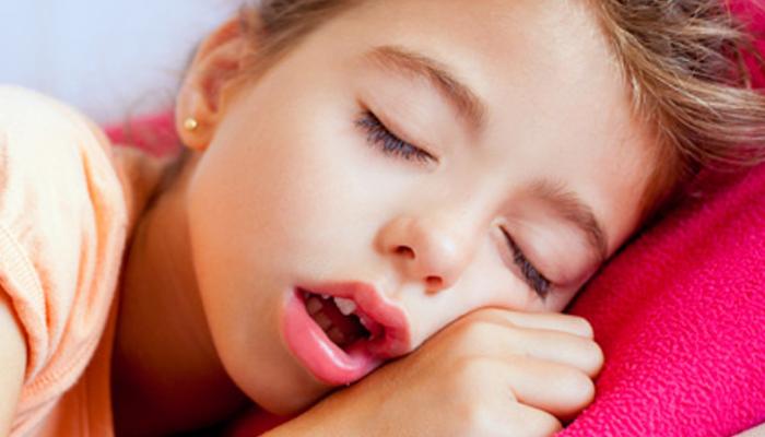 تنفس الطفل عن طريق الفم