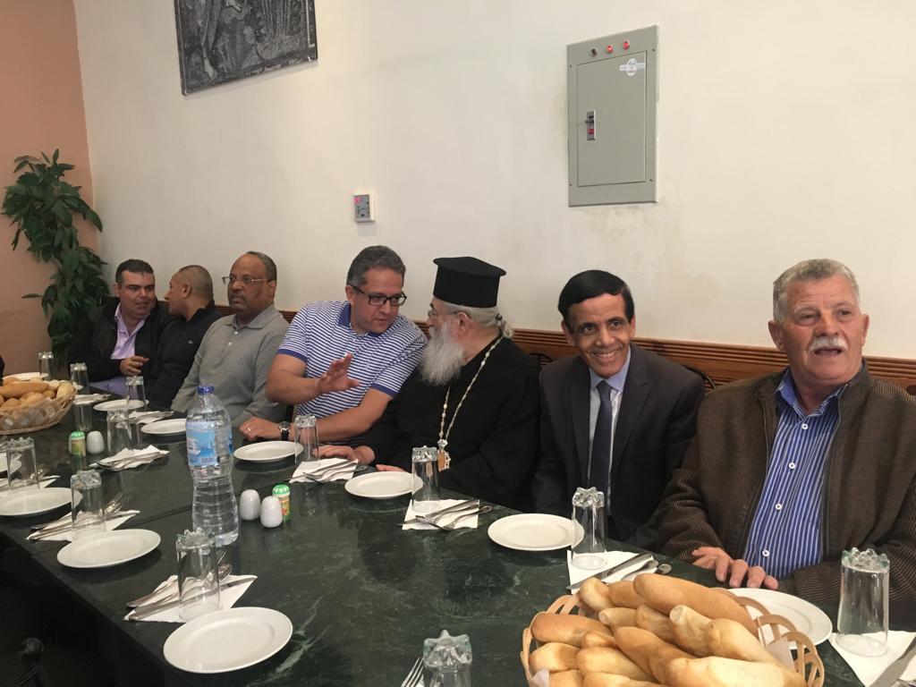 وزير الآثار وسفير 15 دولة فى جولة بـملتقى الأديان بسانت كاترين (3)