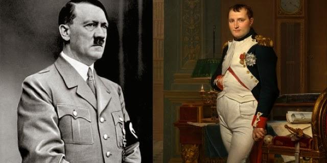 هتلر ونابليون