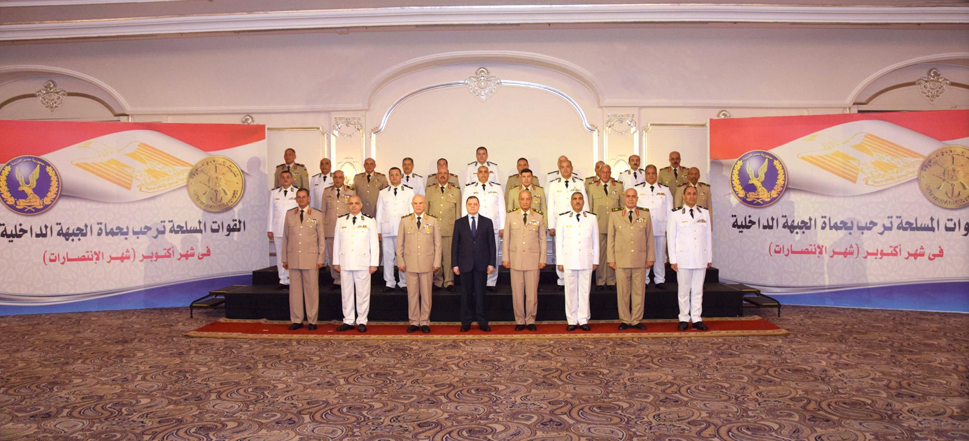 لقاء وزيرى الدفاع والداخلية (2)