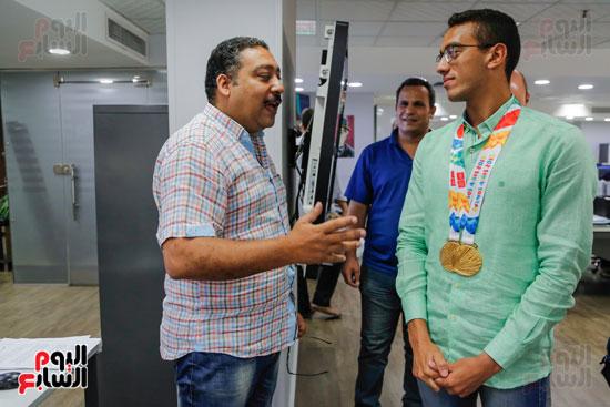 سلمى أيمن و أحمد الجندي لاعبى الخماسى الحديث  (16)