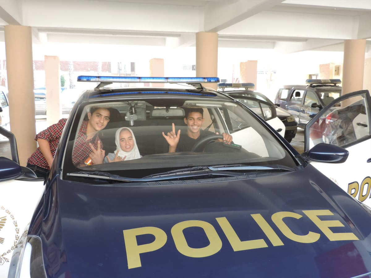 ندوة تعليم قوات شرطة النجدة للغة الإشارة (1)