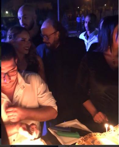 إيمى طلعت زكريا تحتفل بعيد ميلادها