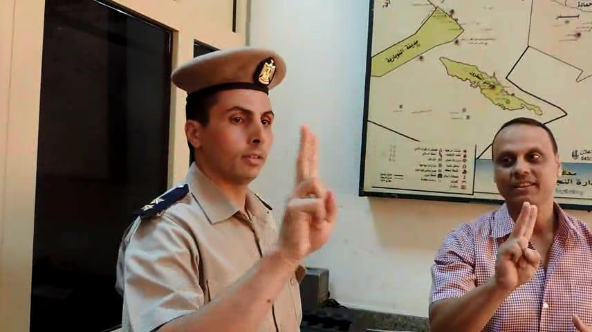 ندوة تعليم قوات شرطة النجدة للغة الإشارة (4)