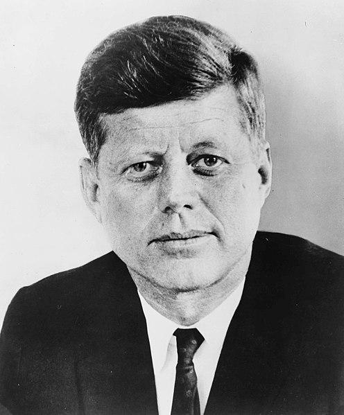 الرئيس الأمريكى الأسبق جون كينيدى