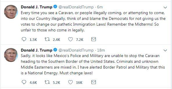تغريدة دونالد ترامب