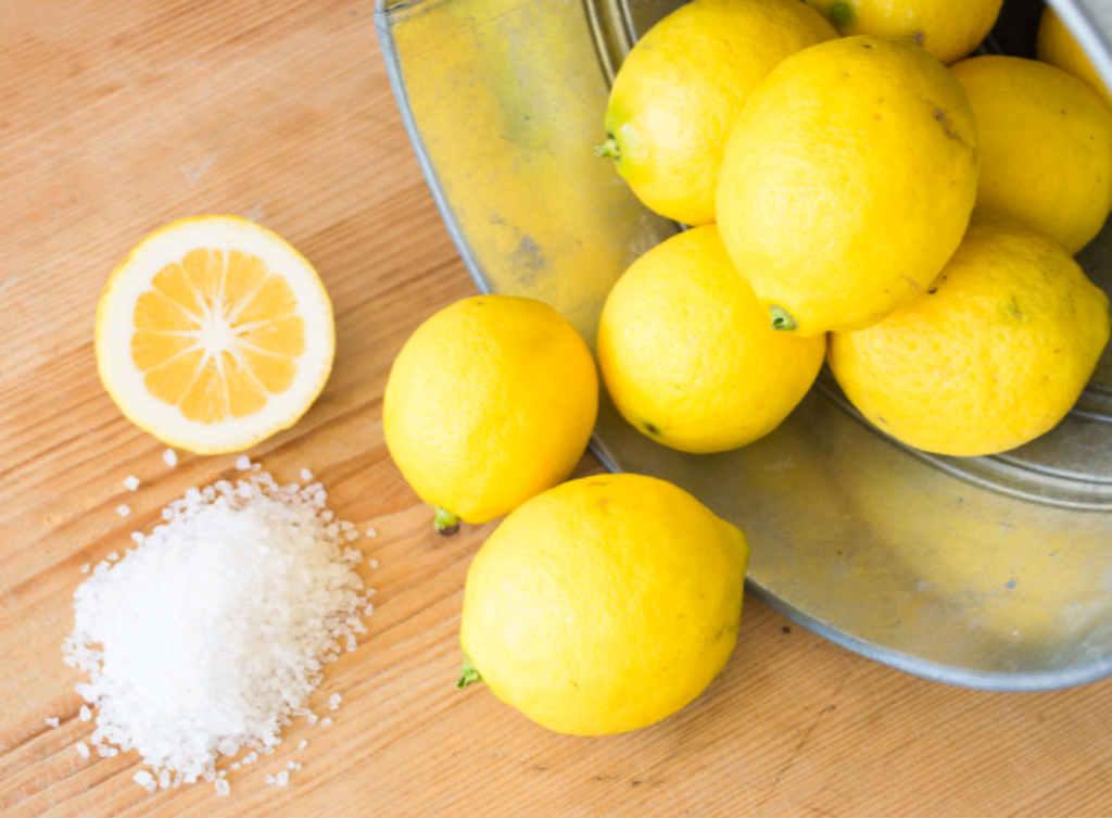 ليمون وملح