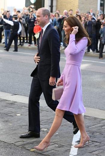 كيت ميدلتون ترافق زوجها لقمة الصحة العقلية فى لندن