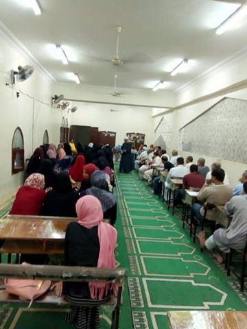 إقبال كثيف على مراكز الأوقاف بشمال سيناء (1)
