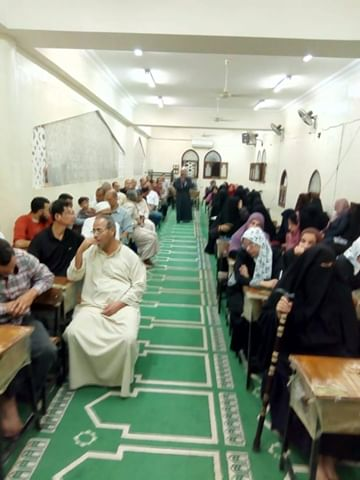إقبال كثيف على مراكز الأوقاف بشمال سيناء (4)