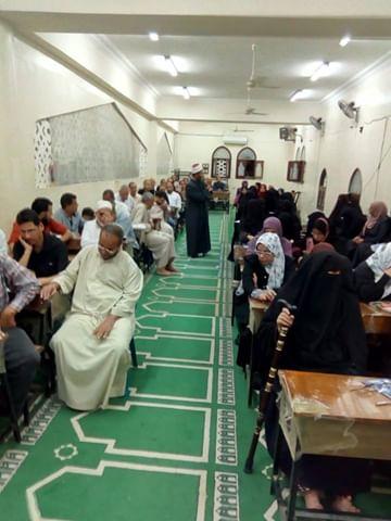 إقبال كثيف على مراكز الأوقاف بشمال سيناء (6)