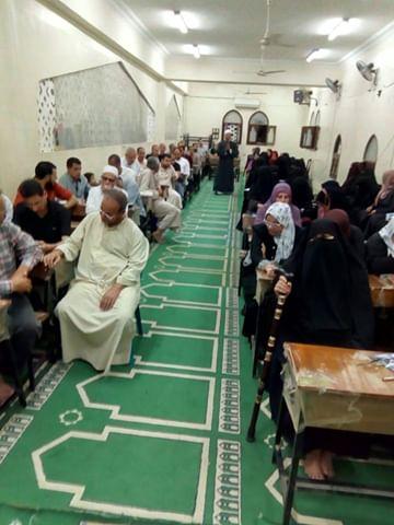 إقبال كثيف على مراكز الأوقاف بشمال سيناء (12)