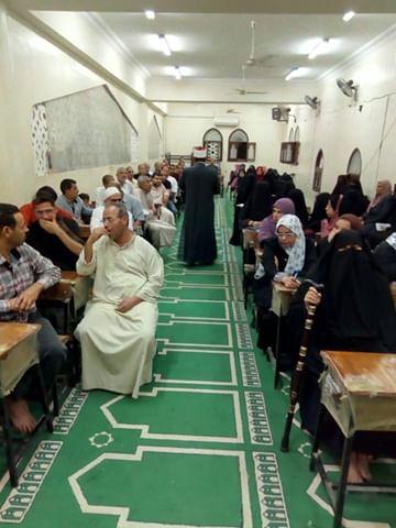 إقبال كثيف على مراكز الأوقاف بشمال سيناء (9)