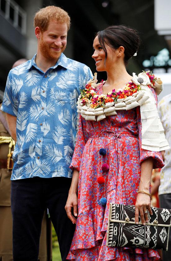 الأمير هارى و وزوجته ميجان فى شهر عسل لا ينتهى   (9)