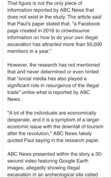 """""""إيجيبت توداى"""" يفضح مزاعم محطة abc الأسترالية بشأن قيمة الآثار المهربة من مصر 131811-2.PNG"""