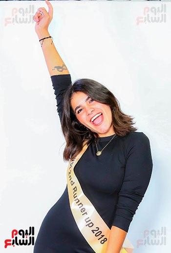 شروق شريف الوصيفة الثانية لملكة جمال مصر بعدسة اليوم السابع