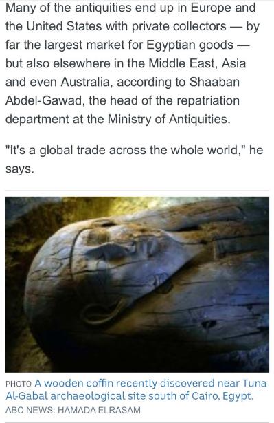 """""""إيجيبت توداى"""" يفضح مزاعم محطة abc الأسترالية بشأن قيمة الآثار المهربة من مصر 360626-6.PNG"""