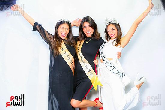 ملكة جمال مصر والوصيفة الأولى والثانية