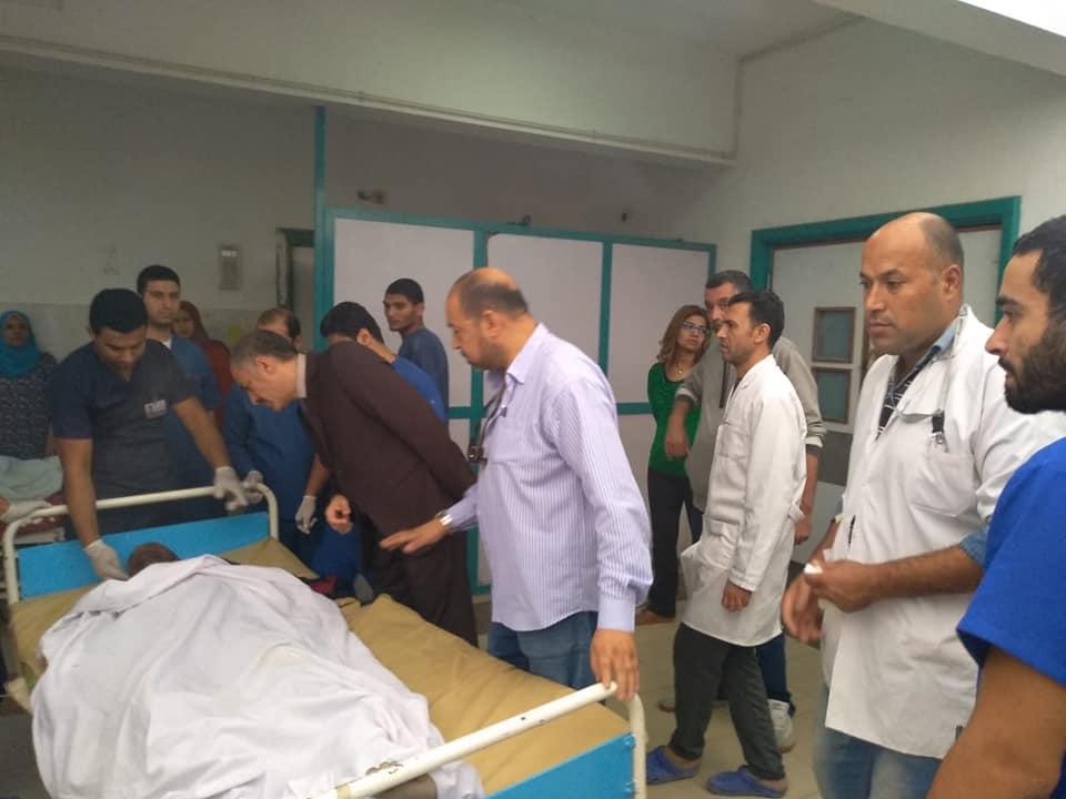 اسعاف المصابين فى مستشفى الاسماعيلية العام (6)