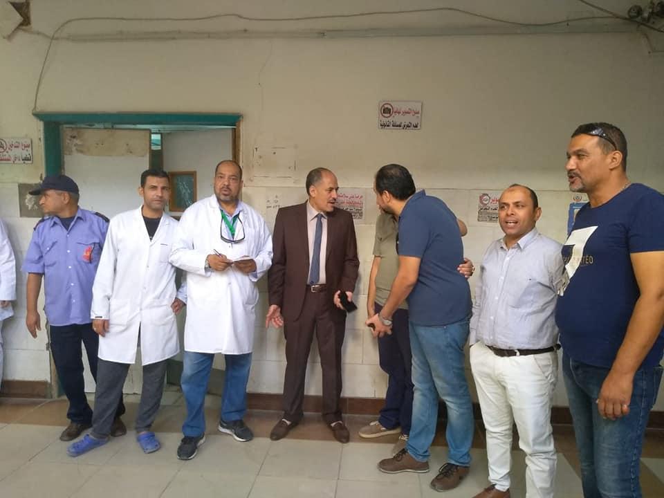 اسعاف المصابين فى مستشفى الاسماعيلية العام (5)